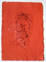 Portrait of the Viewer, Khadi Red.